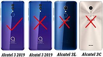 XunEda Funda Alcatel 3 2019 5.94
