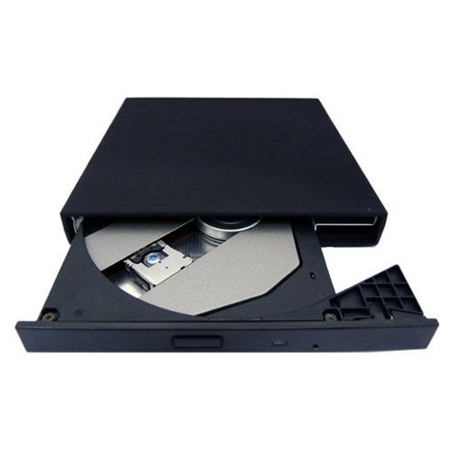 Toshiba Mini CD-ROM Drive - TOOGOO(R) Slim portable External USB 2.0 CD-ROM Drive for Toshiba Mini NB205-N210 NB205-N312/BL NB205-N310/BN NB205-N311/W NB205-N313/P series Laptops Black by TOOGOO(R) (Image #3)