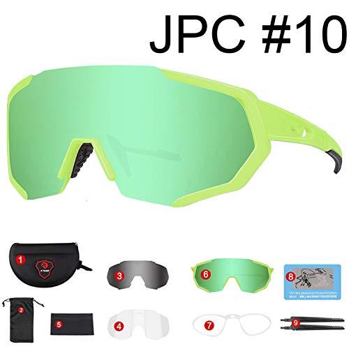 2019 Polarized Cycling Sun Glasses Outdoor Sports Bicycle Glasses Men Women Bike Sunglasses,X-YJ-JPC10-3