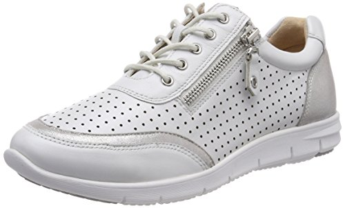 Weiß Perl 190 Wht Multi 23601 CAPRICE Oxfords Damen qCX1xwt