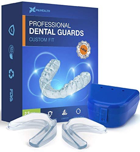 NEOMEN Health Professional Dental Guard - Pack of 4 - New Upgraded Anti Grinding Dental Night Guard, Stops Bruxism, Tmj & Eliminates Teeth Clenching (Best Nighttime Mouth Guard)