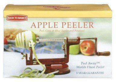 Back To Basics Apple/Potato Peeler Suction Base Cast Iron by Back to Basics