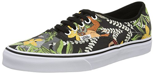 Vans Disney Book Jungle Authentic Black the 6Rq8Aw6r