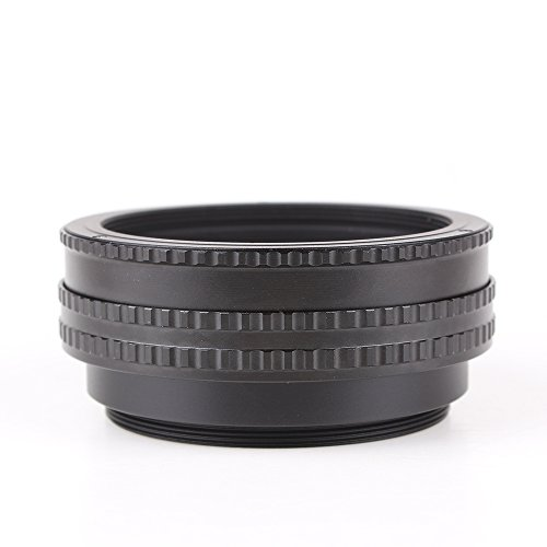 Pixco M65 to M65 Mount Lens Adjustable Focusing Helicoid Macro Tube Adapter 17mm to 31mm for Macro Shooting 17-31mm