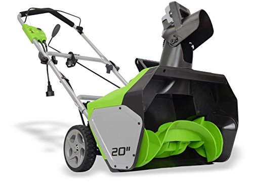 GreenWorks Snow Blower