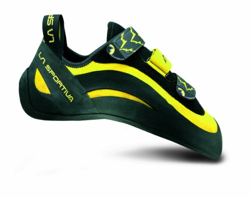 La Sportiva Miura VS Climbing Shoe - Men's Yellow/Black 40.5 by La Sportiva