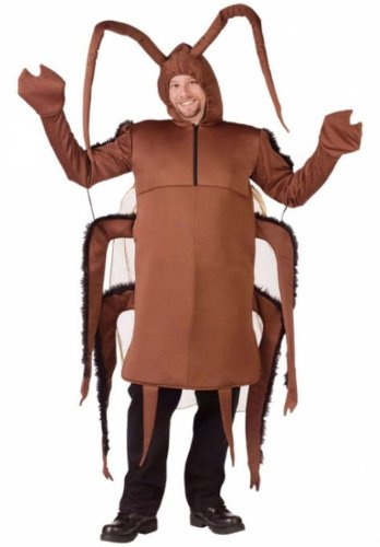 Adult Cockroach Halloween Costumes (Cockroach Costume - Standard - Chest Size 33-45)