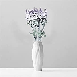 FYYDNZA 1Pcs 10 Head Lavender Decorative Silk Flower Artificial Flower Grain Simulation For Home Decoration Wedding 110