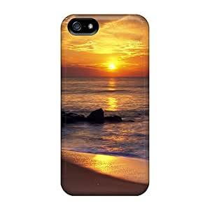 Awesome Design Sunrise Reflection On Ocean Hard Case Cover For Iphone 5/5s by mcsharks