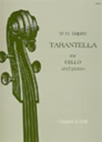 STAINER AND BELL SQUIRE W. H. - TARANTELLA FOR CELLO AND PIANO OP.53 Classical sheets Cello