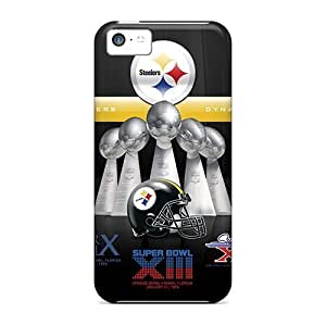 Fashion Cases For Iphone 5c- Pittsburgh Steelers Defender Cases Covers