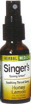 Herbs Etc - Singer s Saving Grace Honey Lemon 1 oz