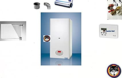 Calentador de pared combi caldera de gas de la caldera 23kW CLN agua + calefacción sanimiz
