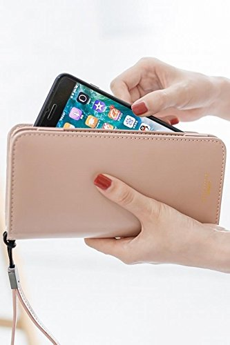 Price comparison product image Generic Ms. holding a wallet women girl long section of the new Japan and South Korea retro minimalist wallet multi-function zipper