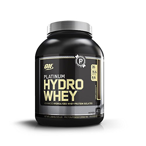 Optimum Nutrition Platinum Hydrowhey Protein Powder, 100% Hy...