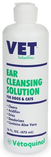 Vet Solutions Ear Cleansing Solution (16 oz), My Pet Supplies