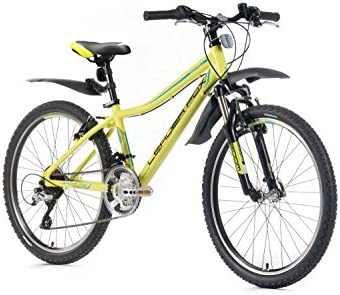 24 pulgadas aluminio Leader Fox Capitán de montaña bicicleta ...