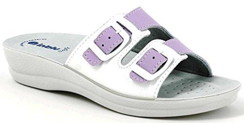 INBLU - Zapatillas de estar por casa para mujer violeta glicine 36