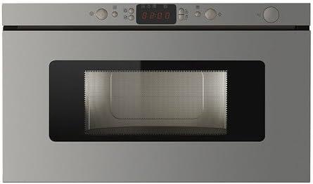 IKEA HUSHALLA - Horno de microondas de acero inoxidable: Amazon.es ...