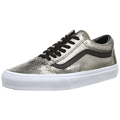 Vans Old Skool Metallic Leather Bronze/Black 30%OFF