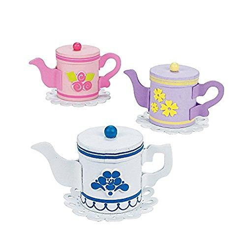 Craft Holder Goody - Teapot Treat Holder Craft Kit - Craft Kits & Projects & Decoration Crafts