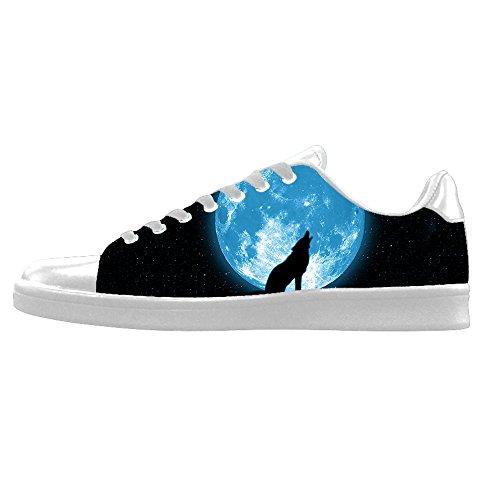 shoes A Leinwand Turnschuhe Wolf und Segeltuchschuhe Schuh top Lace Mond Dalliy High up Mens Schuhe Sneakers Canvas a4qXgwB