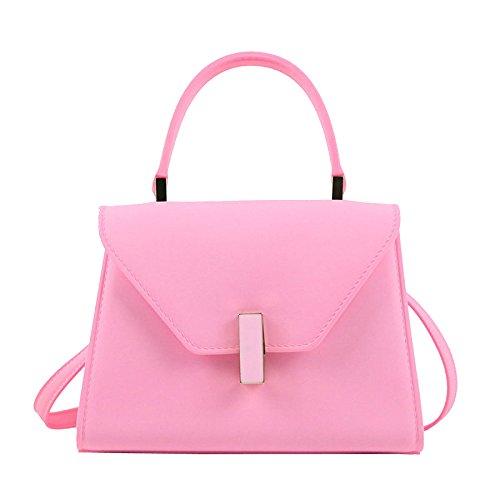 Women Leather Shopping Satchel Bags Elegant For Designer Big Soft Travel Bags Women Bags Shoulder Pink Messenger Kyokim Bag HB5qwY5