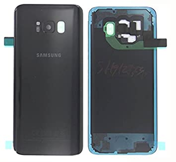 Original Samsung Galaxy S8 Plus g955 F g955 S8 + Batería Tapa Trasera y tapa de batería Cover Carcasa + tiras adhesivas Midnight Black Negro GH82 – ...
