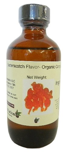 Natural Butterscotch Flavor- Organic Compliant 4 oz