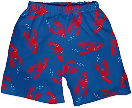 i play. Baby & Toddler Boys' Trunks with Built-In Absorbent Swim Diaper