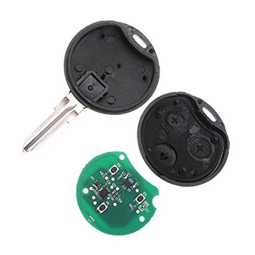 R TOOGOO 3 Tasti di chip chiave telecomando 433 MHz per Smart Smart fortwo forfour citta roadster Chiavi della macchina