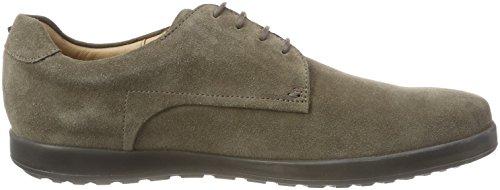De Beige Derby Hugo 250 sd khaki Cordones Zapatos beige derb Flat Hombre Para IwqBHqfp