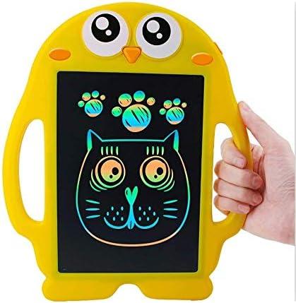 Somvierxzb 液晶タブレット子供黄色いアヒルの子の描画電子絵画子ライティングペインティングボード9インチのホームタブレッ