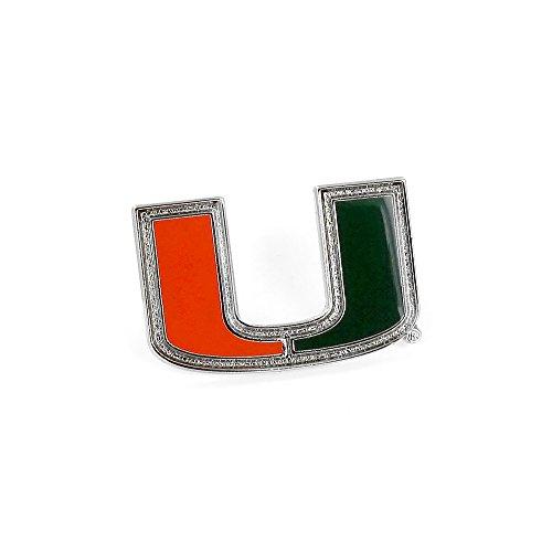 Hurricanes Logo Pin - NCAA Miami Hurricanes Logo Pin