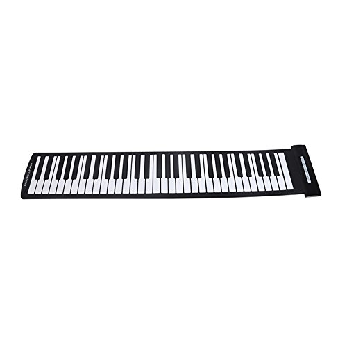 [해외]Andoer Portable 61 Keys Flexible Roll-Up Piano USB MIDI Electronic Keyboard Hand Roll Piano / Andoer Portable 61 Keys Flexible Roll-Up Piano USB MIDI Electronic Keyboard Hand Roll Piano