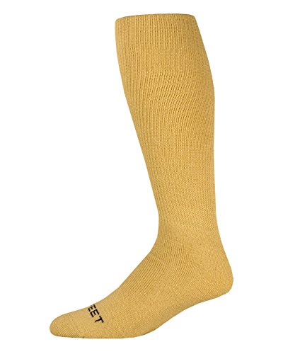 Pro Feet Multi-Sport Cushioned Acrylic Tube Socks, Vegas Gold, Small/Size 7-9
