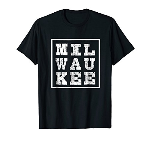 - Milwaukee T-Shirt: Wisconsin Tshirt for Midwest Residents