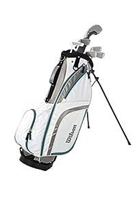 Wilson Staff Damen Golf - Schlägersätze PRO HDX GRA LRH 1/2 SET, Schwarz...