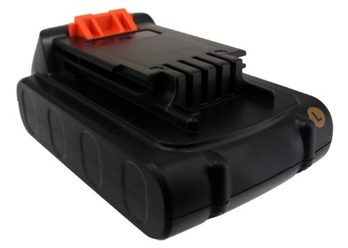 forniamo il meglio Techgicoo 1500 1500 1500 mAh 30.0wh batteria compatibile con nero & Decker BDCDMT120, CHH2220, LCS120, LDX120 C, LDX120SB, LGC120, LHT2220, LLP120, e altri  consegna diretta e rapida in fabbrica