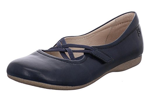 Josef Seibel Women's Fiona 39 Closed Toe Ballet Flats, Ocean, 3 UK Blue