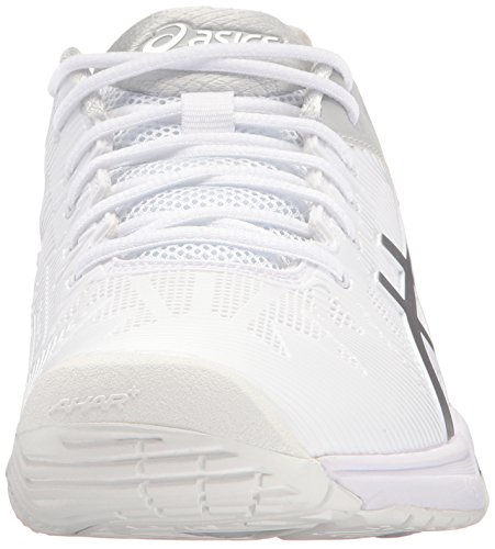 3 Speed ASICS Women's Solution Shoe Tennis White Silver Gel nWyzcTyRfU
