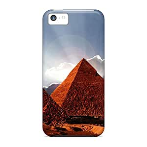 DAE13017BRMT Cases Skin Protector For Iphone 5c Pyramid With Nice Appearance