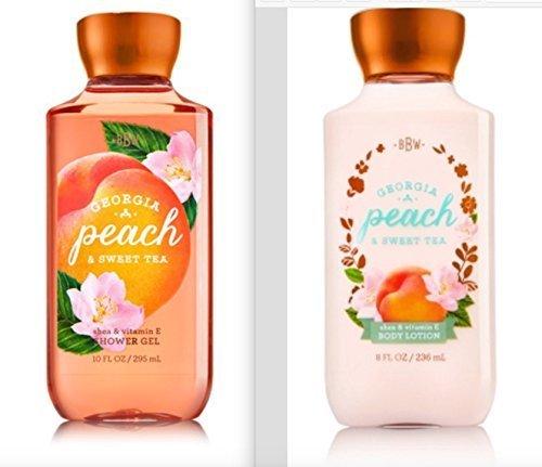 Bath and Body Works Georgia Peach & Sweet Tea Lotion and