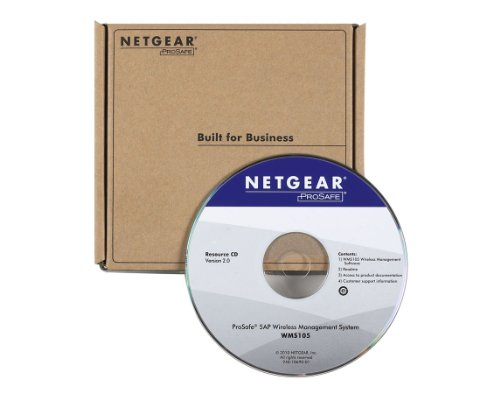 Price comparison product image Netgear ProSafe Wireless Management Software - Complete Product - Standard - 5 Access Point - Retail - PC