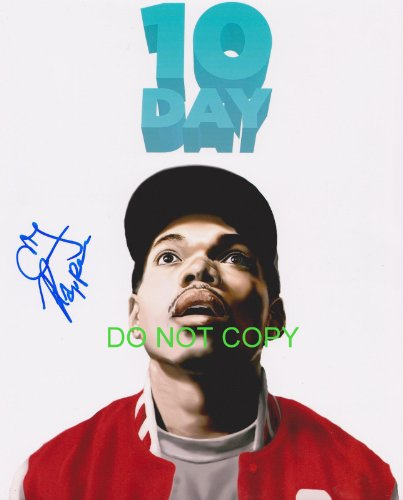 CHANCE the RAPPER reprint signed autographed photo #1