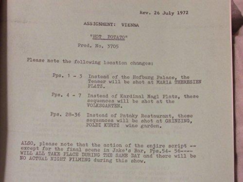 Assignment Vienna - Hot Potato - Metro-Goldwyn-Mayer June 12, 1972 rev. July 26, 1972
