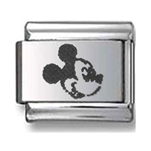 Mickey Mouse Italian charm - Mouse Italian Charm Bracelet