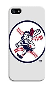 LarryToliver Customizable Mystery Funny Baseball Cleveland Indians Skin Case Cover for iphone 5/5s