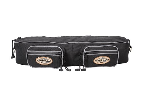 Weaver Leather Trail Gear Cantle Bag, Black