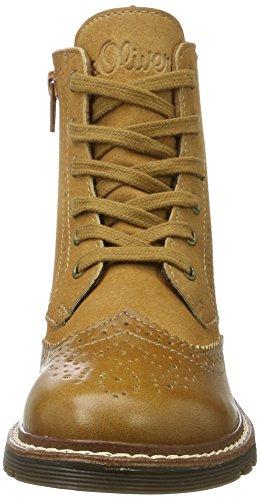 Militar Botas Mujer para Corn 25465 s Oliver Amarillo qBx66T